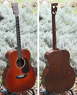 Tenor guitar - 1932 Martin 0-18 T Sunburst Tenor Guitar