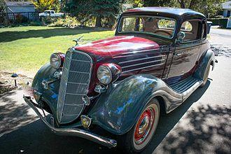 Terraplane - 1935 Terraplane Coupe