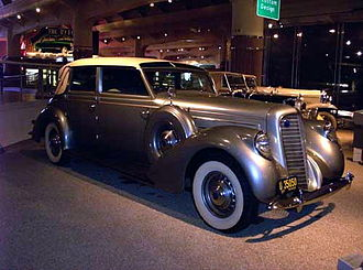 Lincoln K-series - 1937 Lincoln Model K Brunn Touring Cabriolet
