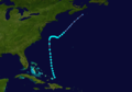 1940 Atlantic tropical storm 1 track.png