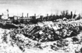 1944 destructed buildings pushkin road bobruisk.png