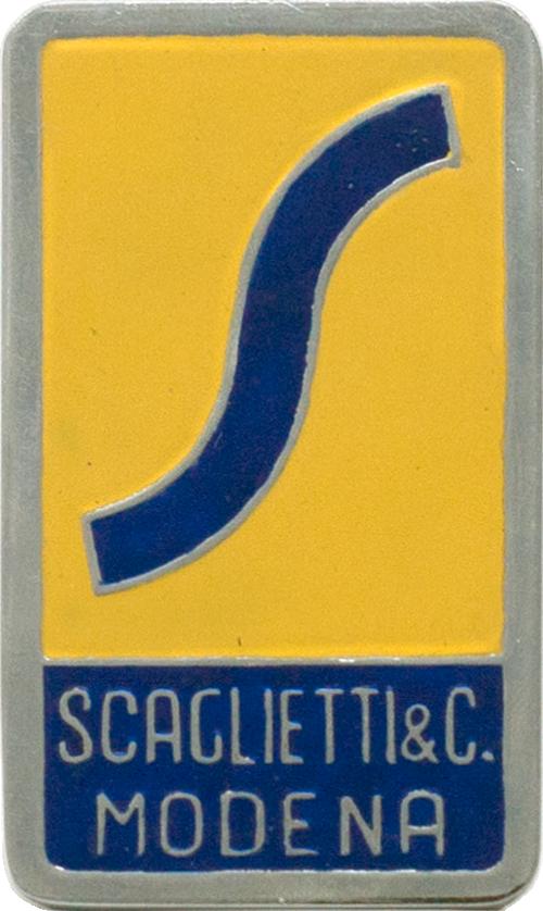1950s Carrozzeria Scaglietti Badge