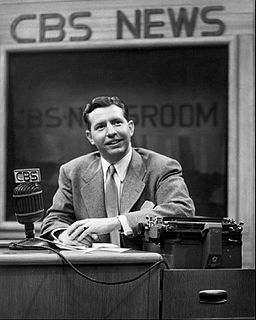 Douglas Edwards American television news anchor