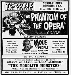 1963 - Towne Theater Last Normal Ad - 6 Jan MC - Allentown PA