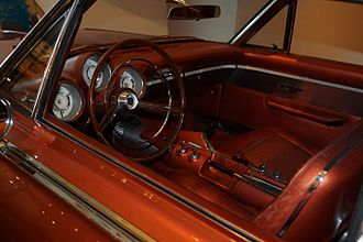 Chrysler Turbine Car - The Turbine Car interior
