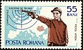 1965 European Shooting Championships, Bucharest-Pistol-shooter.jpg
