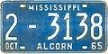 1965 Mississippi License Plate.jpg