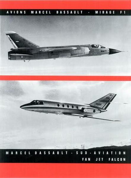 File:1966 Pub Avions M.D. Mir F1 Fan Jet Falcon.jpg