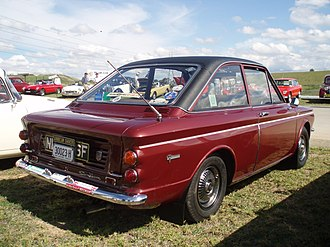 Hillman Imp - 'Coupe' variants, marketed as the Hillman Imp Californian, the Sunbeam Stiletto (pictured above) and the Singer Chamois Coupé, featured a more steeply raked rear window which could not be opened