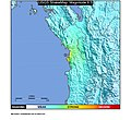 1970 Chocó earthquake ShakeMap.jpg
