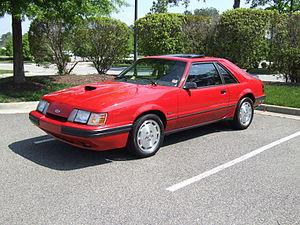 Ford Mustang SVO - 1986 Mustang SVO