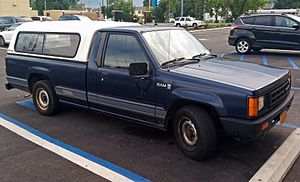 1987 Dodge Ram 50, regular cab and long bed.jpg