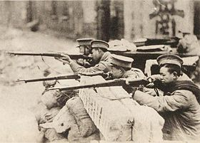 19th Root Army, being in engagement with the Japanese in Chapei front.jpg