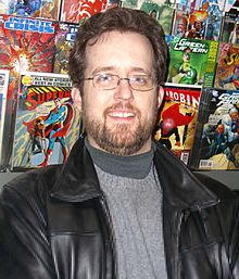 Hauman at Midtown Comics in Times Square, New York City on February 7, 2007