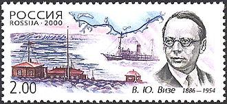 Vladimir Wiese - Wiese on a 2000 Russian stamp