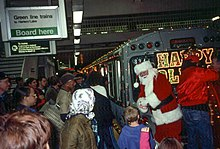 train with santa claus in 2001