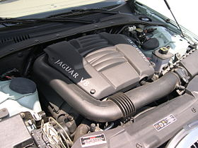 2001 Jaguar S-Type AJ-V8 engine.JPG