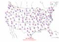 2002-09-30 Max-min Temperature Map NOAA.png