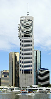 Riparian Plaza Skyscraper in Brisbane, Australia