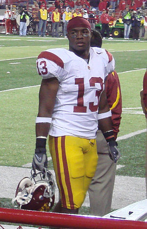 Stafon Johnson - Johnson after his 2007 performance against Nebraska, where he rushed for 144 yards on 11 carries with one touchdown.