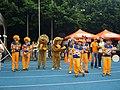 2007INGTaipeiMarathon TaipeiKidsAndCharityRunning Mascots Cheerleader.jpg