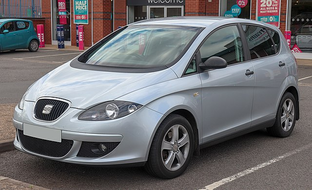 Image of 2007 SEAT Altea Reference TDi 1.9 Front