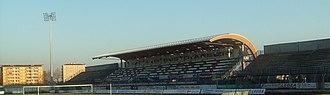 "Busto Arsizio - Stadium ""Carlo Speroni"", the home ground of Pro Patria."