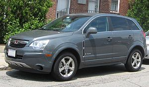 Hybrid electric vehicle - The Saturn Vue Green Line is a mild hybrid.