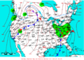 2009-04-14 Surface Weather Map NOAA.png