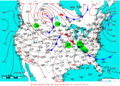 2009-06-22 Surface Weather Map NOAA.png