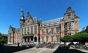 University of Groningen - The 20th-century main building in 2009