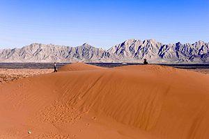Gran Desierto de Altar - Sand dunes at El Pinacate y Gran Desierto de Altar Biosphere Reserve, northwestern Sonora, México.