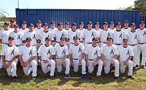 English: 2009 Aces Team Picture