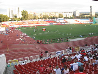 Karađorđe Stadium - Image: 2009 European Athletics Junior Championships