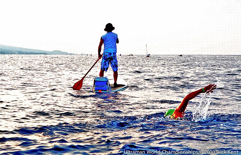 2010.ultraman swimmer.paddler ©.rick.kent
