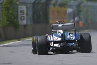 2011 British Grand Prix - The controversy covered the changing of the usage of blowing exhaust fumes through the diffuser at the rear of the car