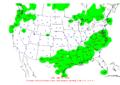 2012-01-10 24-hr Precipitation Map NOAA.png