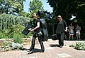 2012-05-20 Musicians leaving a wedding.jpg