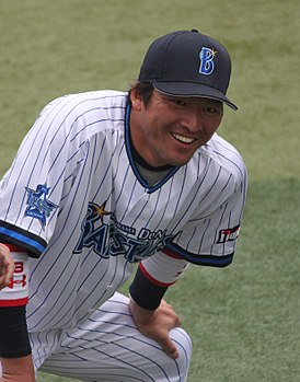20120318 Masaaki Koike, outfielder of the of the Yokohama DeNA BayStars,at Yokohama Stadium.JPG
