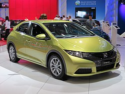 2012 Honda Civic (FK2 MY12) VTi-S hatchback (2012-10-26) 01.jpg