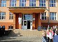 2013-10-12 - Bošáca, vstup do bošácké školy.jpg