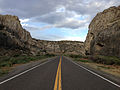 2014-07-18 18 45 34 View east along U.S. Route 6 about 123 miles east of the Esmeralda County Line in Nye County, Nevada.JPG