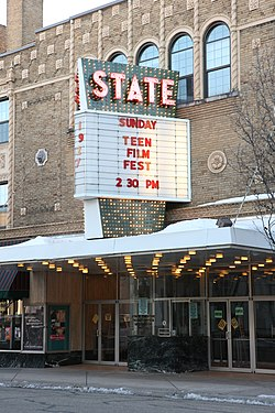 State Theatre Kalamazoo Michigan Wikipedia
