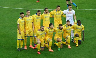 Frosinone Calcio - 2015–16 Frosinone, at its first Serie A season.
