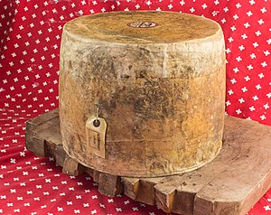 Truckle - A truckle of farmhouse Cheddar cheese