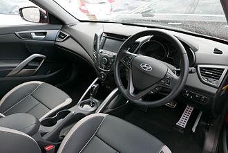Hyundai Veloster - Interior