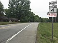 2016-05-18 08 55 48 View north along Saint Andrews Church Road (Maryland State Route 4) near Point Lookout Road (Maryland State Route 5) near Leonardtown in St. Mary's County, Maryland.jpg