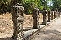2016 Angkor, Preah Khan, Rzeźby przy drodze do świątyni (02).jpg