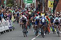 2017 Tour of Britain (4) bunch sprint in Newark (1).JPG