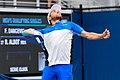 2017 US Open Tennis - Qualifying Rounds - Radu Albot (MDA) (27) def. Frank Dancevic (CAN) (37009194771).jpg